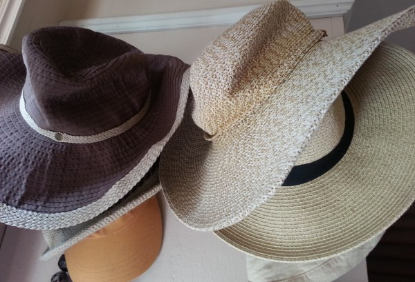 Hats Hanging