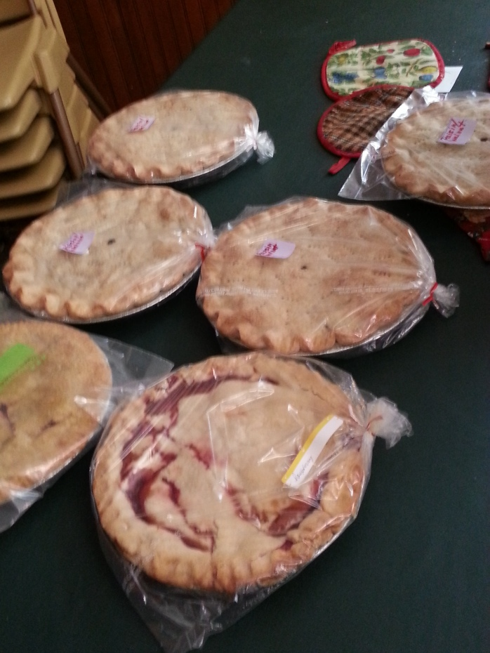 Pies for sale