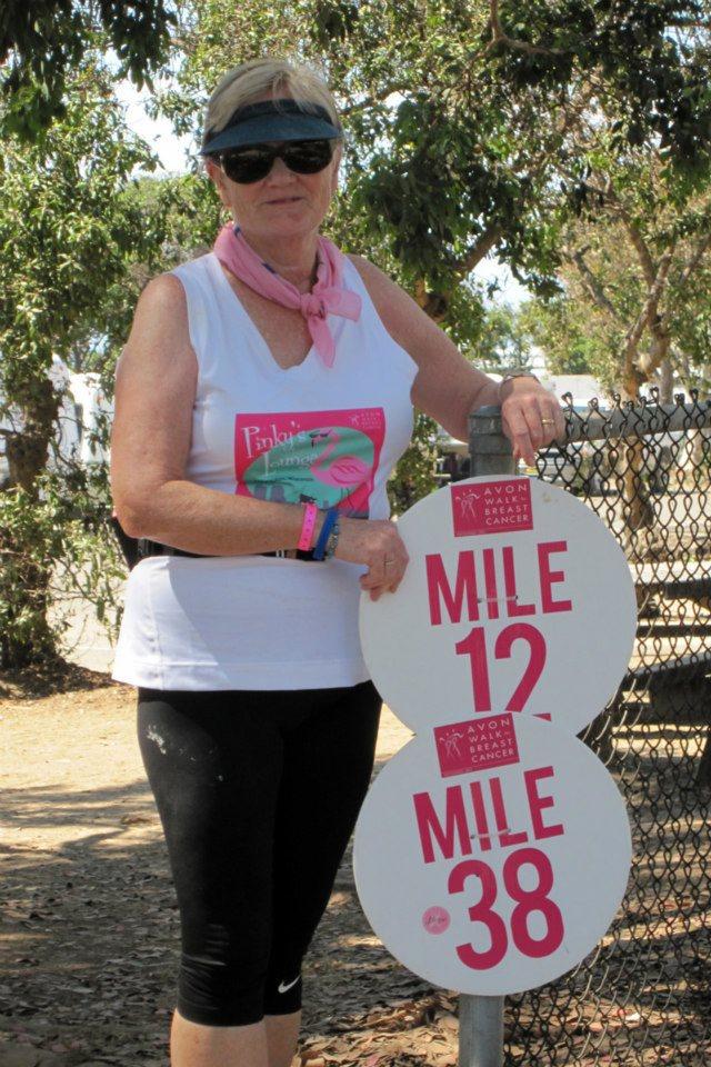 Avon Walk for Breast Cancer, Santa Barbara, CA 2012
